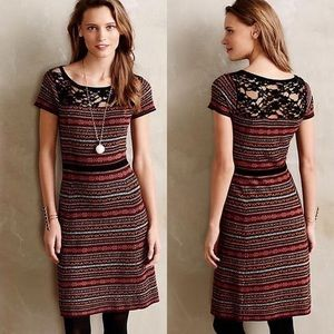 Anthropologie Fairisle Sweater Dress by Sparrow